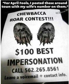 Roar contest!
