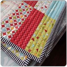 Sew Quilt Jelly Roll Quilt with straight line quilting Strip Quilt Patterns, Jelly Roll Quilt Patterns, Machine Quilting Patterns, Strip Quilts, Easy Quilts, Twin Quilt Pattern, Sewing Patterns, Easy Baby Quilt Patterns, Fat Quarter Quilt Patterns