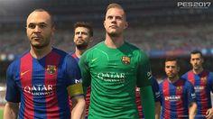 a7cb2d4b3ddbc PES 2017  Konami et le FC Barcelone annoncent un partenariat de 3 ans