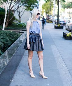 How to Wear Halter Tops: 30 Outfits That Will Make You Love the Neckline   StyleCaster