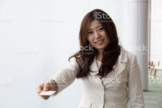 Business Woman, Business Card
