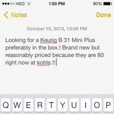 Looking for a mini Keurig..! Mini in any color.!! Other