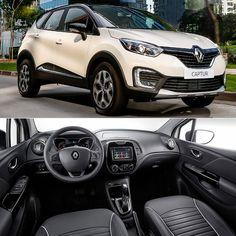 Renault Captur 2018: SUV chega ao Brasil Marca francesa lançou nesta terça-feira o novo SUV no mercado brasileiro. Ele vai ficar situado acima do Duster para concorrer com Kicks HR-V Renegade e cia.  O Renault Captur é oferecido em duas versões com duas opções de motorização e câmbio:   Captur Zen 1.6 SCe manual: quatro airbags (dianteiros e laterais) controle eletrônico de estabilidade (ESP) controle eletrônico de tração (ASR) assistente de partida em rampas (HSA) freios com ABS ISOFIX…