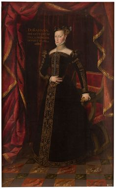 Juana de Austria, hermana de Felipe II, princesa de Portugal  Pantoja de la Cruz, Juan