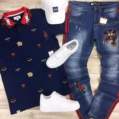 Teen Swag Outfits, Dope Outfits For Guys, Stylish Mens Outfits, Casual Outfits, Tomboy Fashion, Streetwear Fashion, Fashion Outfits, Hype Clothing, Mens Clothing Styles
