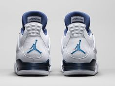 An Official Look at the 'Columbia' Air Jordan 4 Retro