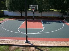 From backyard basketball courts to gym flooring, we're your source for everything sports court related. Basketball Court Layout, Backyard Basketball, New York Basketball, Jazz Basketball, Basketball Court Flooring, Outdoor Basketball Court, Basketball Shooting, Basketball Uniforms, Outdoor Ideas