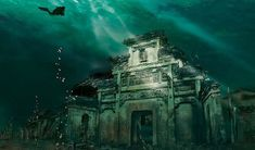 10 incredible real underwater cities and ruins around the world including Japan and Italy