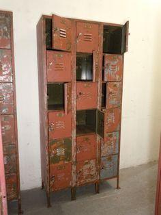 love vintage locker idea