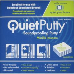 QuietPutty 380 5-Pack 1-oz Green Patching Compound