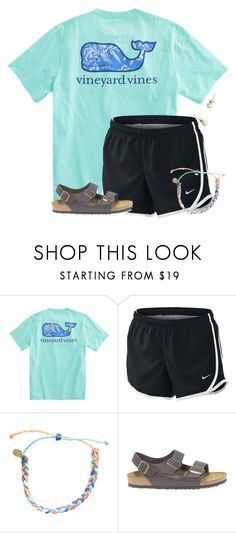 """I want some Puravida bracelets:)"" by flroasburn on Polyvore featuring NIKE, Pura Vida, Birkenstock and J.Crew"