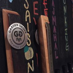 At @gardengrovebrewing in #carytownrva. If you haven't been yet next weekend would be a good time to visit for their one-year anniversary.  #VABrewPass #destination