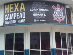 Outdoor do Corinthians, em Alfenas
