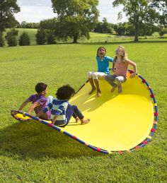 Fun For One (and For Friends), The Wonder Wave Is An Outdoor Active Play Toy  Like No Other; Kids Can Use It As A Chair, Rocker, Hammock, Or Balancing ...