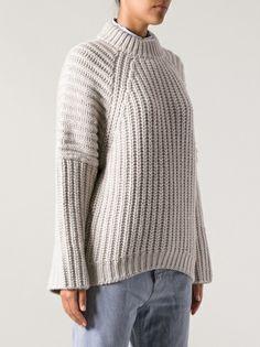 BALENCIAGA - chunky knit jumper 8