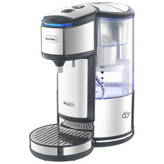 [ $116.95 ] BREVILLE BRITA HOT WATER DISPENSER. The Breville Brita hot water dispenser offers you filtered, boiling hot water in just 40 seconds. The machine uses Brita filter technology to remove hardness, chlorine, heavy metals and impurities, providing you with water which has an improved taste, smell and appearance.  The machine rapidly boils your water and a variable dispenser enables you to choose how much water you would like in your cup. The Breville Brita hot water dispenser…