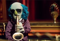 Zoot, the saxophone player from The Muppet Show band
