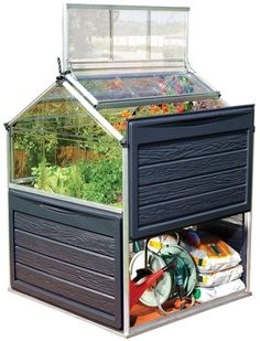 Polycarbonate Greenhouse Raised Garden Bed Durable Plant Vegetable Herb New #Palram