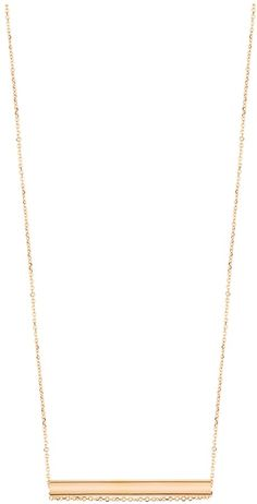 Ginette_ny Straw on Chain Necklace