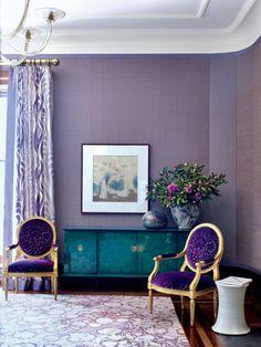 violett balu farben kombinieren wandfarben kombinieren