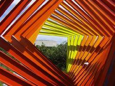 Espacio Escultórico UNAM, México DF. Coalt. Helen Escobedo.