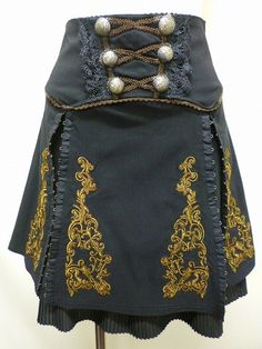DieselSteamGypsy - follow the link to see the matching corset and two matching coats.