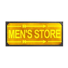 Mens Store Light Up Sign Light Up Signs, Men Store, Living Styles, Fathers Day, Loft, Home Decor, Decoration Home, Life Styles, Room Decor