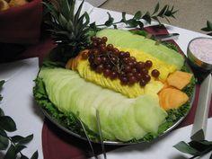 Seasonal Sliced Fruit with Sweet Yogurt Sauce