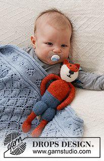 Baby - Free knitting patterns and crochet patterns by DROPS Design Crochet Diagram, Basic Crochet Stitches, Crochet Basics, Drops Design, Knitting Patterns Free, Free Knitting, Crochet Patterns, Crochet Baby, Knit Crochet