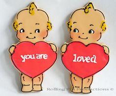 Kewpie Doll Cookies.