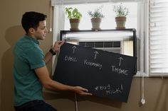 7 ideas for using chalkboards, chalkboard paint at home
