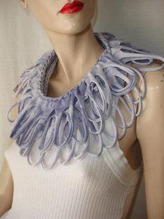 womens shredded braided cotton jersey por JohnnyVegasOriginals, $29.00