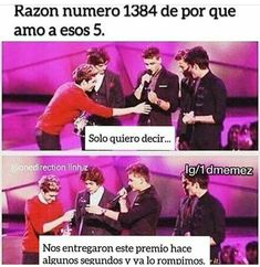 Awww my boys Four One Direction, One Direction Humor, One Direction Pictures, One Ditection, Larry Shippers, Louis And Harry, 1d And 5sos, Larry Stylinson, Best Memes