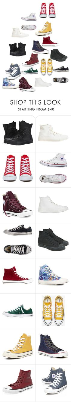 """""""Sammi McCall's chucks"""" by samtiritilli666lol ❤ liked on Polyvore featuring Converse and Clinical Care Skin Solutions"""
