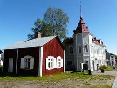 Aldea-iglesia de Gammelstad (Luleå) Provincia de Norrbotten Suecia.