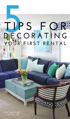 Tips for Decorating Your First Rental_Title Image