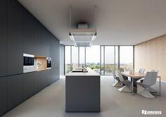 Minimalist Kitchen on Behance