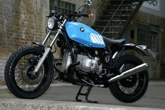 Custom BMW R80 Scrambler