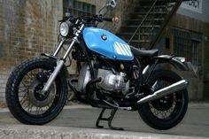 Custom BMW R80 Scrambler