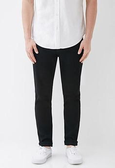 Clean Wash - Slim Fit Jeans | 21 MEN - 2000102898