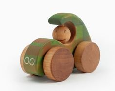 Wooden Toy Airplane Wooden Toy Vehicle Kids Toy by FriendlyToys
