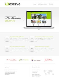 New Template Design for business website!!