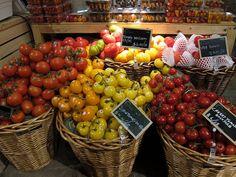 Tomatoes at Eataly, NYC