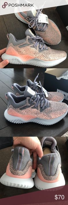 abb7eb8a3 Shop Women s adidas size Athletic Shoes at a discounted price at Poshmark.  Description  Brand new size adidas alpha bounce.