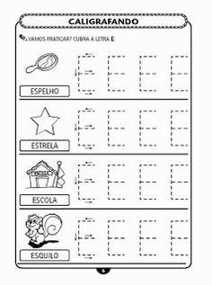 150 Atividades com vogais em letra bastão! - ESPAÇO EDUCAR
