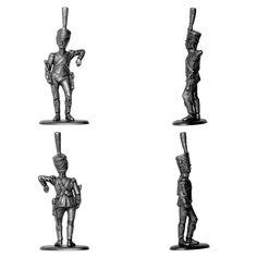 Conductor del tren de los equipajes de la Guardia Imperial (Manufacture Historique de Soldats de Plomb)