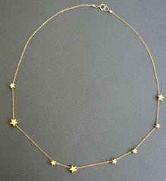 Souhaitant sur un collier étoile Collier or étoile par Muse411