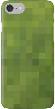 Pixel Grass iPhone 7 Cases #BrownSpotsOnSkin