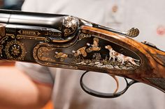 Dream Double Shotguns You Can't Afford - Gun Dog Magazine Beretta Shotgun, Trap Shooting, Gun Art, Custom Guns, Metal Engraving, Firearms, Shotguns, Revolvers, Hunting Rifles