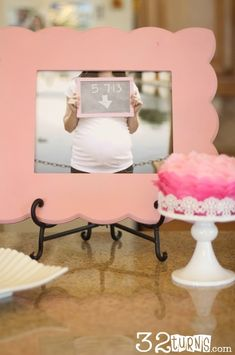 32turns: Love this girly Baby Shower. Great ideas for food and decorations. #babyshower #babygirl
